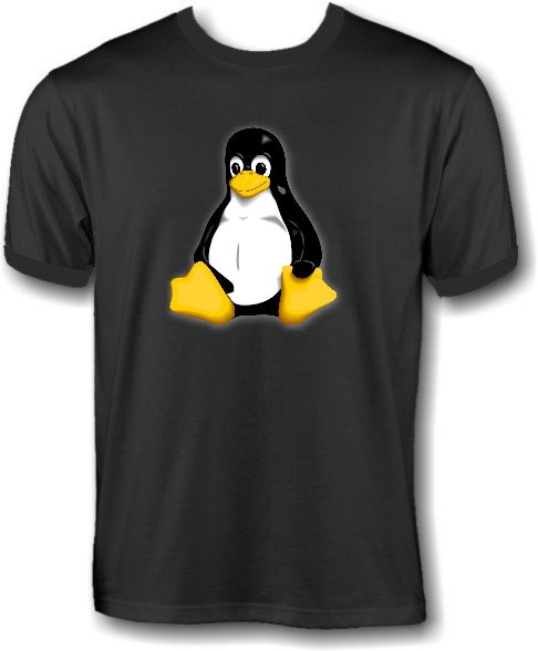 T-Shirt - Linux Pinguin