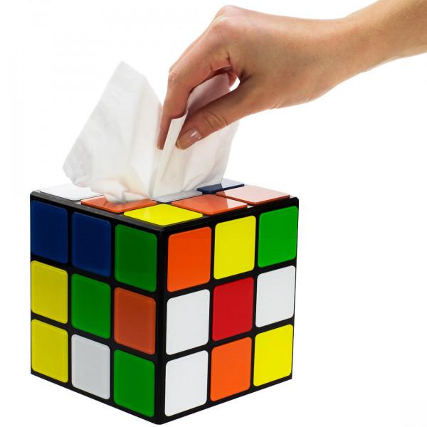 Zauberwürfel Taschentuchbox