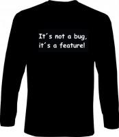 Langarm-Shirt - its not a bug