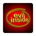 PC-Sticker - evil inside