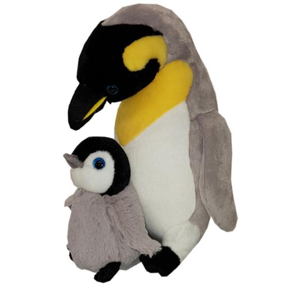 Pinguin mit Baby - 30 cm