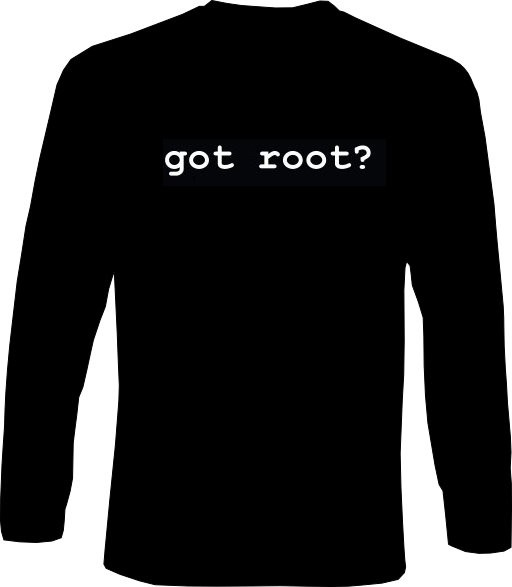 Langarm-Shirt - got root