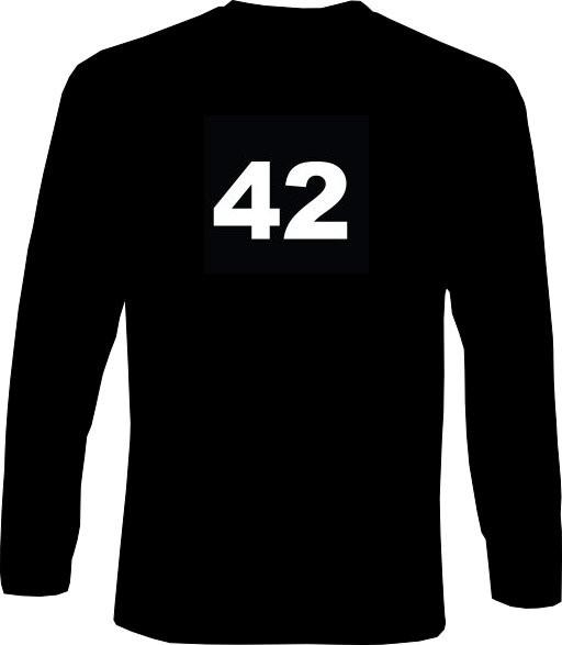 Langarm-Shirt - 42 - Die Antwort