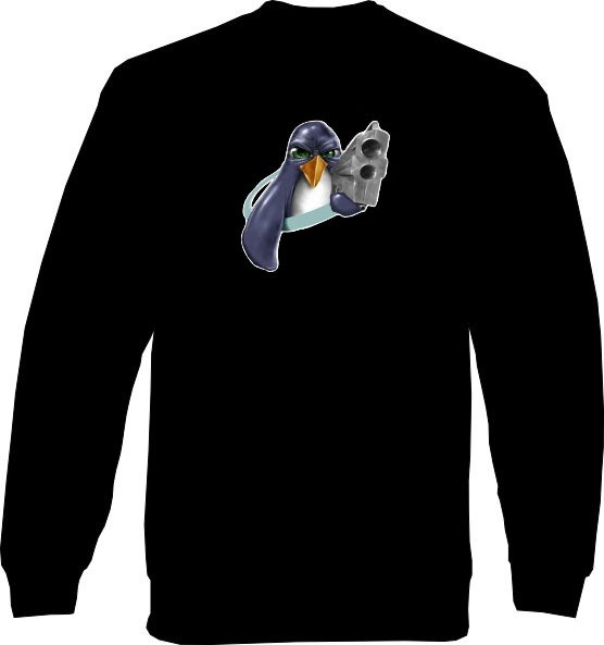 Sweat-Shirt - Tux Gun
