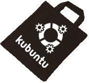 Baumwolltasche - kubuntu Linux