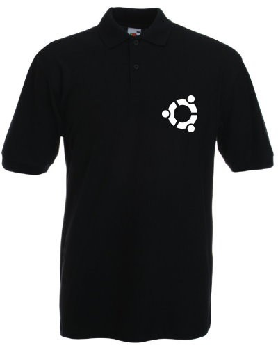 Polo-Shirt - ubuntu Logo