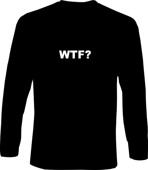 Langarm-Shirt - WTF