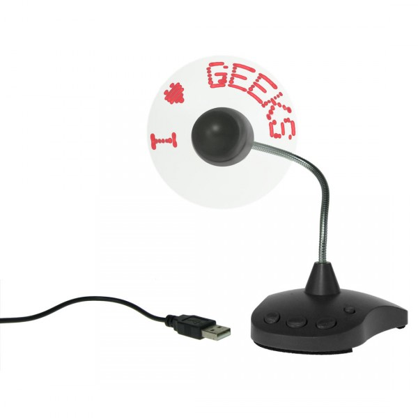 USB LED Ventilator