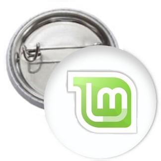 Ansteckbutton - Linux Mint