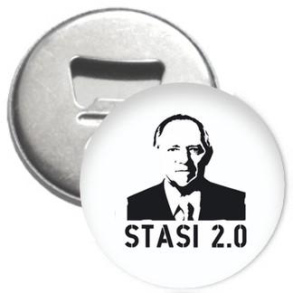 Flaschenöffner + Magnet - Stasi 2.0