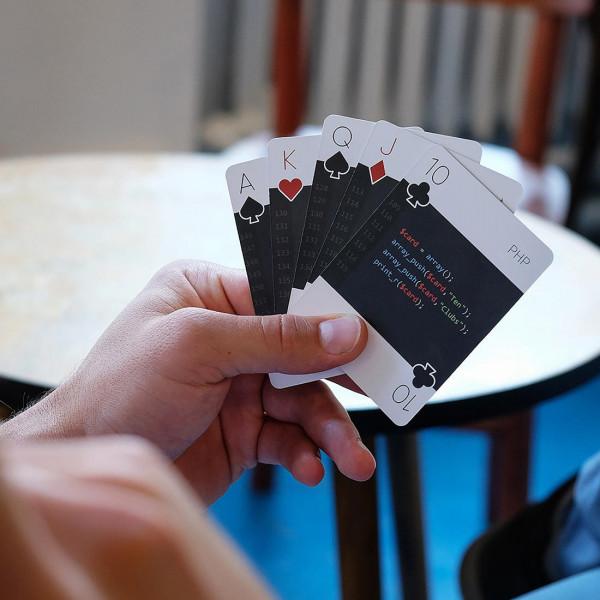 Programmiersprachen-Kartenspiel code:deck